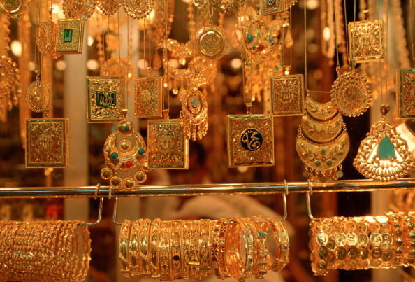 Gold Colored「Jewels in Souk, Kuwait」:写真・画像(1)[壁紙.com]