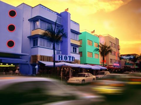 Miami「Art deco buildings in Miami Beach」:スマホ壁紙(18)
