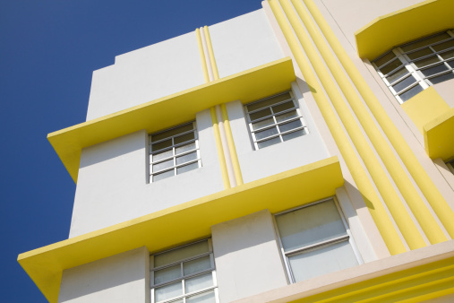 Funky「Art Deco Building, South Beach, Miami Florida, Architecture」:スマホ壁紙(4)