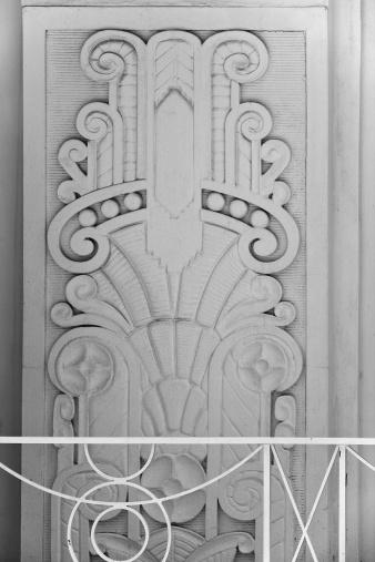 Bauhaus - Art Movement「Art deco building detail (XL)」:スマホ壁紙(19)