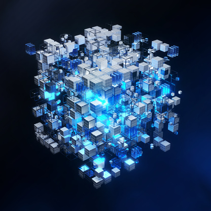 Cloud Computing「Virtual representation of big memory storage or artificial intelligence brain」:スマホ壁紙(2)