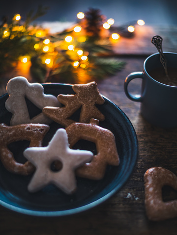 Christmas Cracker「New year homemade cookies and coffee」:スマホ壁紙(10)