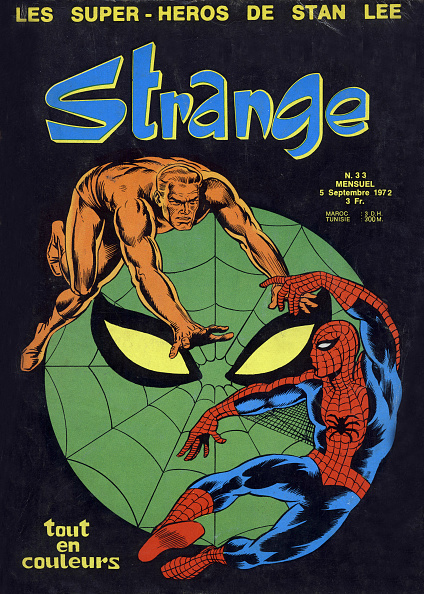 Cartoon「Cover of magazine Strange september 1972 with Spider Man」:写真・画像(8)[壁紙.com]