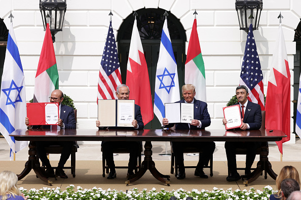 Middle East「President Trump Hosts Abraham Accords Signing Ceremony On White House South Lawn」:写真・画像(0)[壁紙.com]