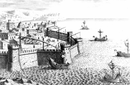 Roman「Reconstruction of device used to defend Syracuse from Roman armada」:スマホ壁紙(13)