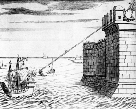 Roman「Reconstruction of device used to defend Syracuse from Roman armada」:スマホ壁紙(17)