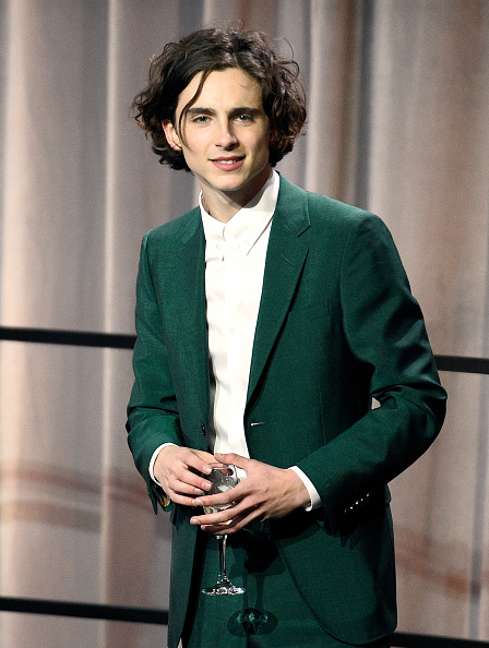 Timothée Chalamet「90th Annual Academy Awards Nominee Luncheon - Inside」:写真・画像(4)[壁紙.com]