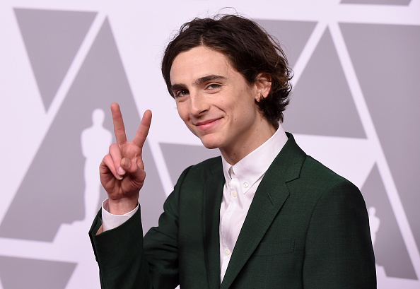 Timothée Chalamet「90th Annual Academy Awards Nominee Luncheon - Arrivals」:写真・画像(19)[壁紙.com]