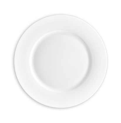 Plate「Empty Plate with clipping path」:スマホ壁紙(17)