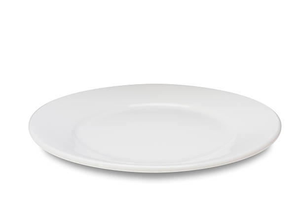 カラの皿にホワイト:スマホ壁紙(壁紙.com)