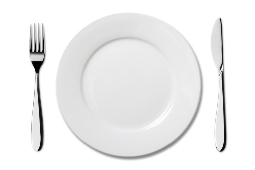 Plate「Empty plate with Knife and Fork」:スマホ壁紙(16)