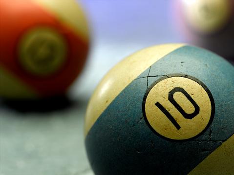 Number 10「Billiard Ball」:スマホ壁紙(9)