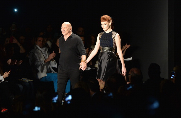 Larry Busacca「Carmen Marc Valvo - Front Row - Mercedes-Benz Fashion Week Fall 2014」:写真・画像(8)[壁紙.com]