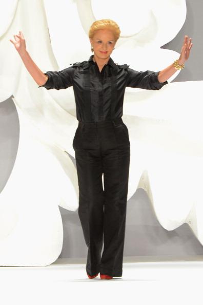 Straight leg pants「Carolina Herrera - Runway - Spring 2013 Mercedes-Benz Fashion Week」:写真・画像(5)[壁紙.com]