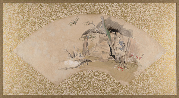 Tempera Painting「House With Woman And Baby」:写真・画像(12)[壁紙.com]