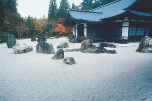 Rock Garden「House with a rock garden」:スマホ壁紙(18)