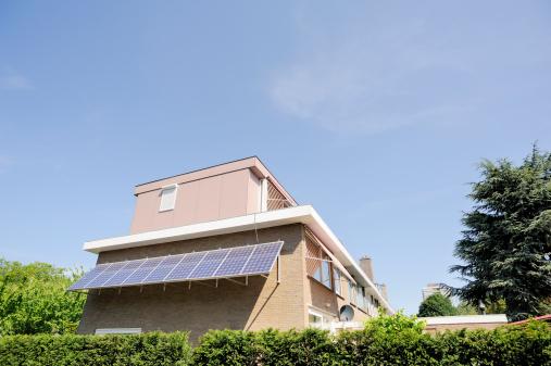 Amsterdam「House with Photovoltaic Panel」:スマホ壁紙(9)