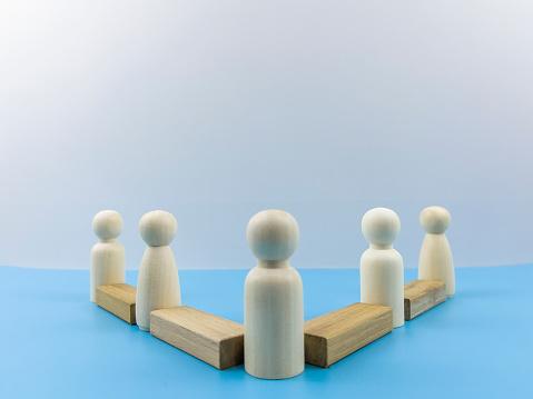 Influencer「Man Leader or Leadership, Human resource, Talent management, Recruitment employee, Successful business team leader concept」:スマホ壁紙(4)