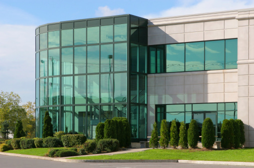 Building Atrium「Modern Industrial Building with Glass Atrium」:スマホ壁紙(19)
