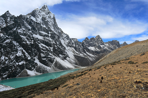 Khumbu「Cholotse Cho glacial Lake, (Chlo Tsho),」:スマホ壁紙(13)