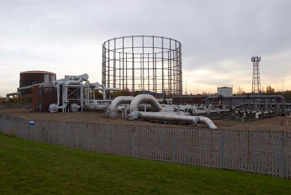 Overcast「Gas Pipe station, Beckton, East London, UK」:写真・画像(7)[壁紙.com]