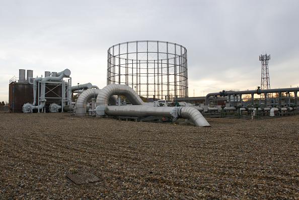 Overcast「Gas Pipe station, Beckton, East London, UK」:写真・画像(12)[壁紙.com]