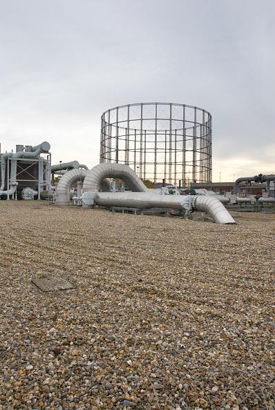 Overcast「Gas Pipe station, Beckton, East London, UK」:写真・画像(6)[壁紙.com]