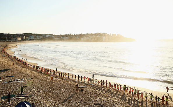 Creativity「Sydney Locals Create Bondi's Largest Fluro Wave」:写真・画像(14)[壁紙.com]