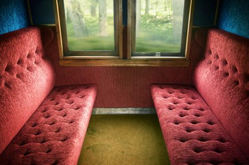 Passenger Train「Old train compartment」:スマホ壁紙(3)
