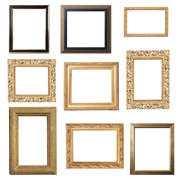 Assorted Gold Frames:スマホ壁紙(壁紙.com)