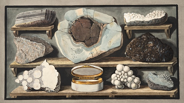 Mineral「Specimens Of Curious Stones Found By The Author On Mount Vesuvius」:写真・画像(14)[壁紙.com]