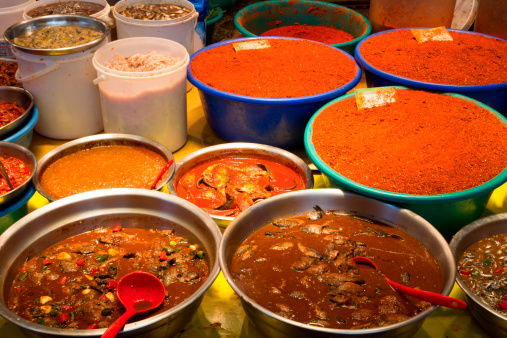 Jeju Island「Soups and spices at Dongmun Traditional Market」:スマホ壁紙(19)