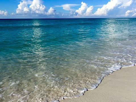 太陽の光「Gulf of Mexico Beach with clear blue water Gulf Shores Alabama」:スマホ壁紙(1)
