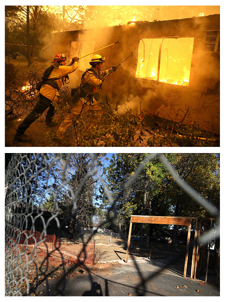 Apartment「Then And Now: One Year After Devastating Paradise, CA Fire That Killed 85」:写真・画像(3)[壁紙.com]
