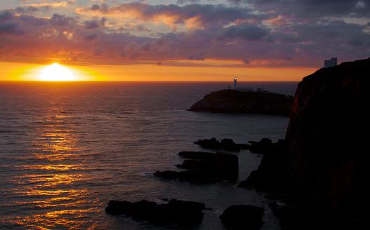 アイリッシュ海「North West Wales」:スマホ壁紙(10)