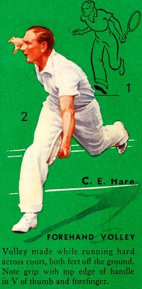 Effort「C E Hare - Forehand Volley」:写真・画像(2)[壁紙.com]