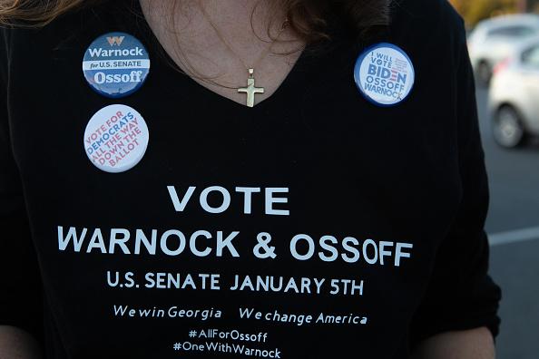 Homemade「Reverend Warnock And Jon Ossoff Campaign For Georgia Runoff Senate Elections」:写真・画像(7)[壁紙.com]