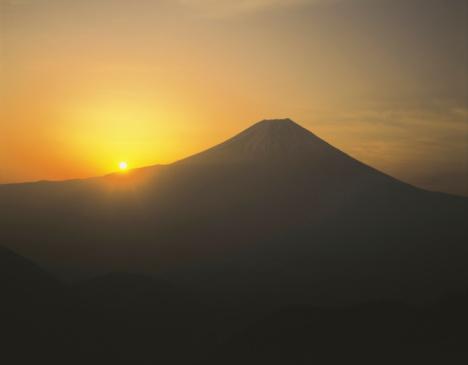 February「Mt. Fuji」:スマホ壁紙(18)