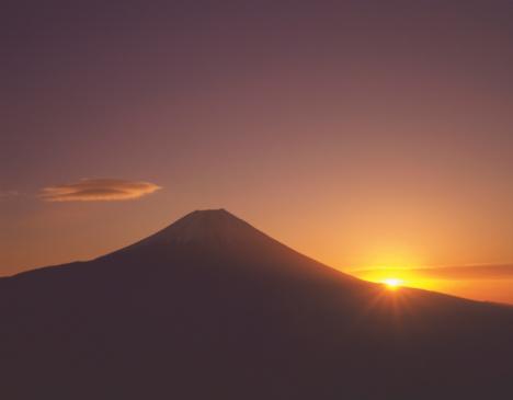 February「Mt. Fuji」:スマホ壁紙(17)