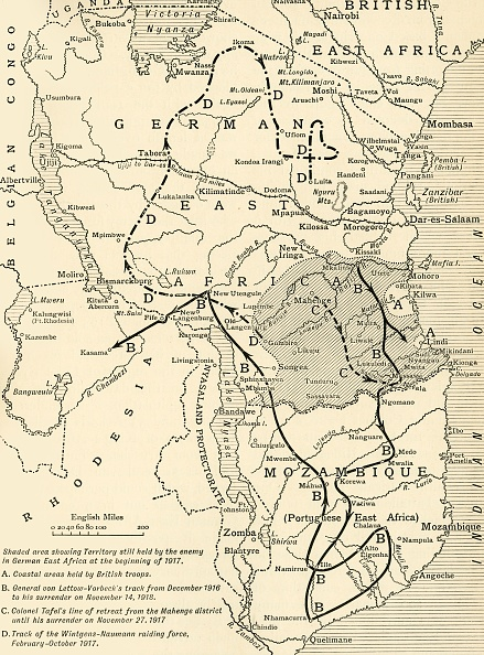 Colony - Territory「Map Illustrating The Closing Phases Of The East African Campaign」:写真・画像(5)[壁紙.com]