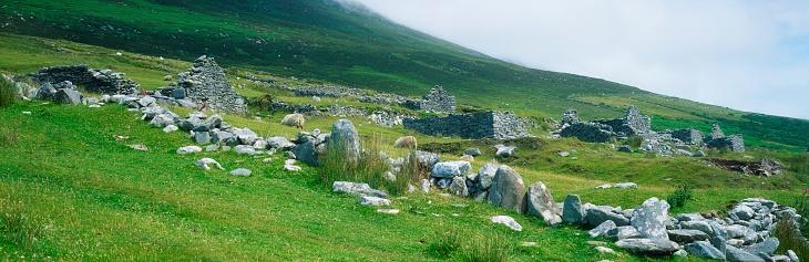 アキル島「Famine Village, Achill Island, Co Mayo, Ireland」:スマホ壁紙(16)