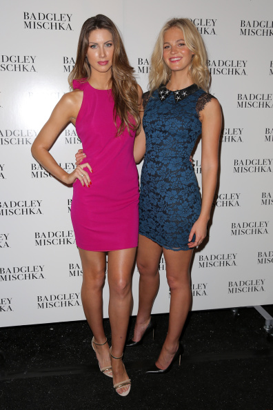 エリン・ヘザートン「Badgley Mischka - Backstage - Mercedes-Benz Fashion Week Spring 2015」:写真・画像(4)[壁紙.com]