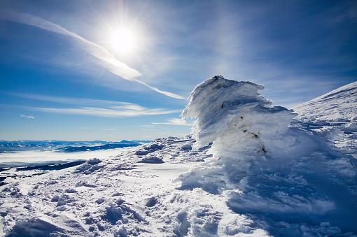 Snowdrift「Barania Mountain」:スマホ壁紙(9)