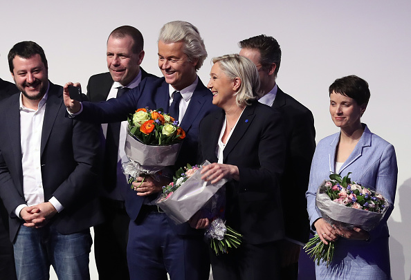 Europe「European Right-Wing Parties Hold Conference In Koblenz」:写真・画像(13)[壁紙.com]