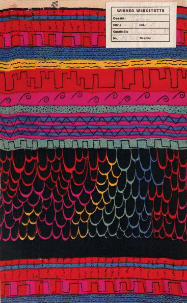 Pattern「Fabric by the Wiener Werkstaette: Tokyo」:写真・画像(17)[壁紙.com]