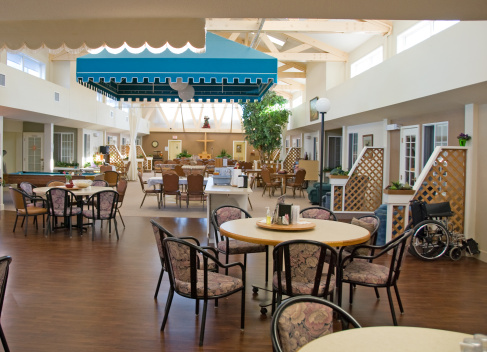 Nursing Home「Seniors' Lodge Dining and Lounge Area」:スマホ壁紙(10)