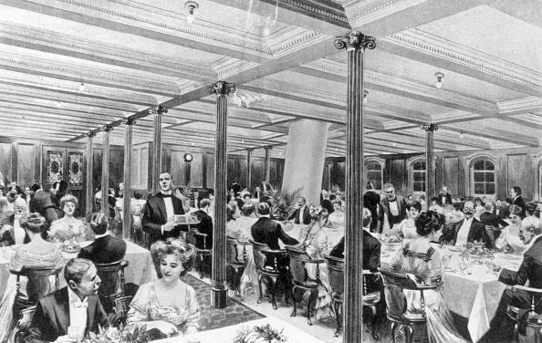 1900-1909「Second Class Dining」:写真・画像(1)[壁紙.com]
