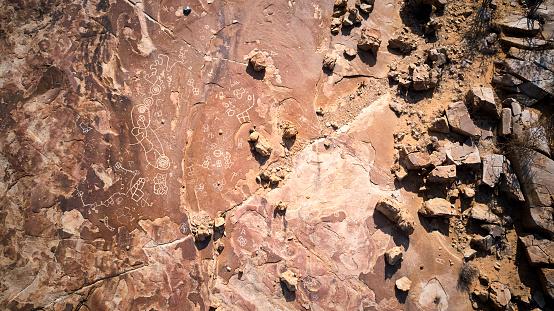UNESCO「Rock art in txitundo hulo in Angola」:スマホ壁紙(19)