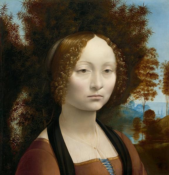 Serious「Ginevra De Benci [Obverse],」:写真・画像(5)[壁紙.com]