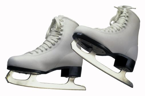 Figure Skating「Pair of ice skates」:スマホ壁紙(13)